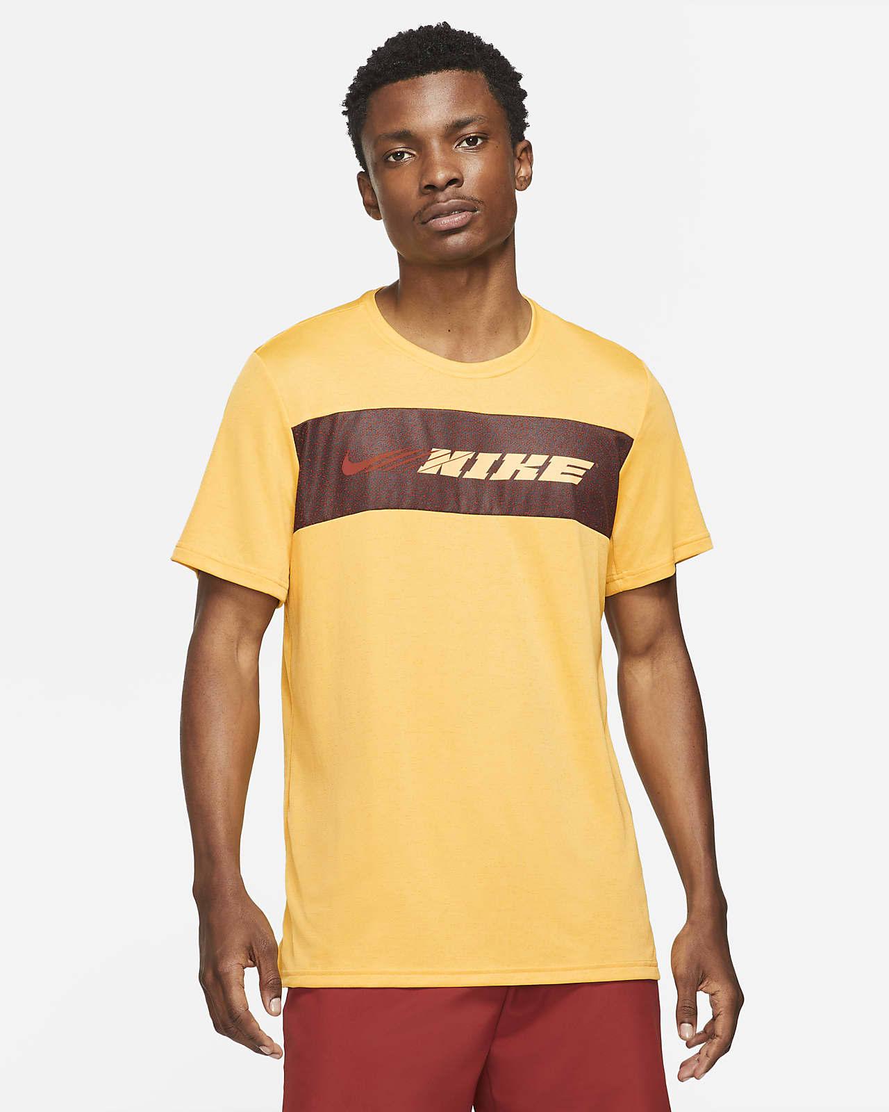 Nike Dri-FIT Superset Sport Clash Kısa Kollu Erkek Antrenman Üstü