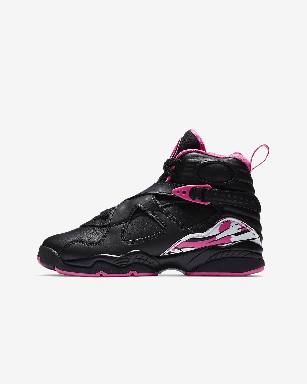 Air Jordan 8 Retro-sko til store børn