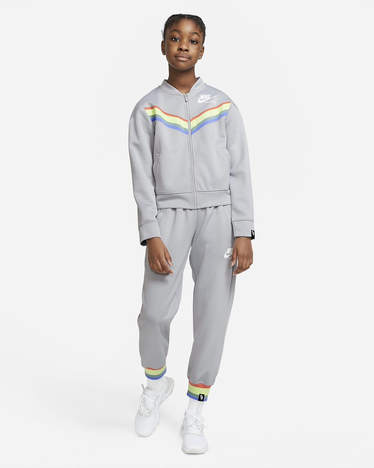 Nike Sportswear Heritage Big Kids' (Girls') Tracksuit