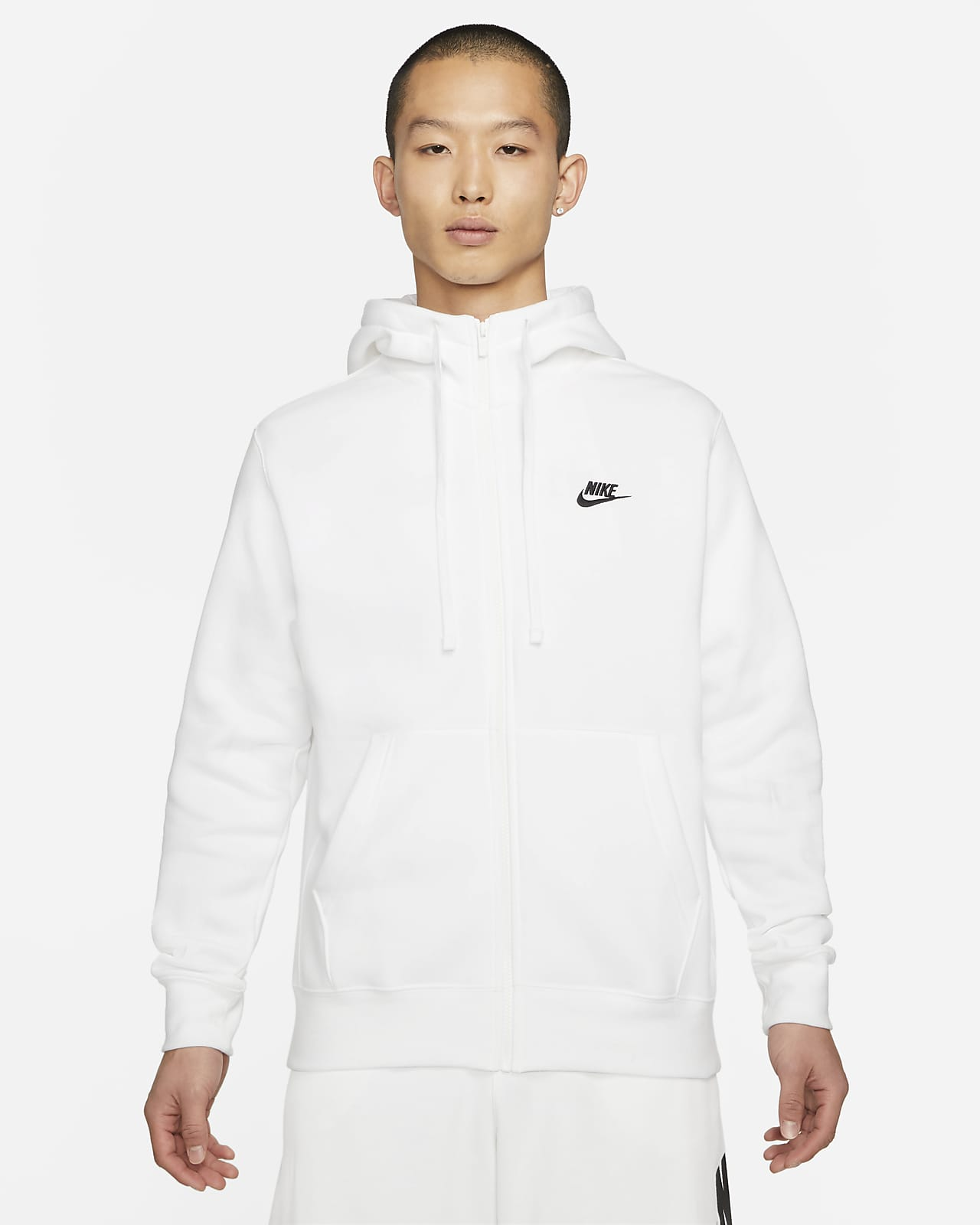 Nike Sportswear Club Fleece Men's Full-Zip Hoodie