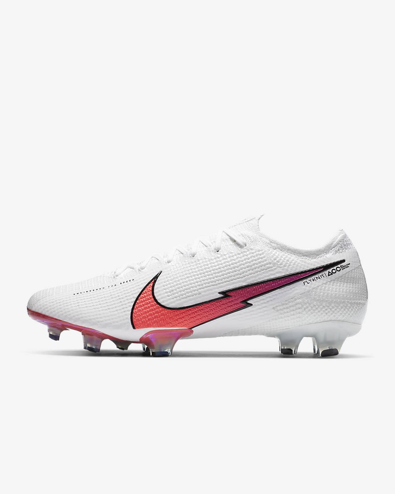 Chuteiras de futebol para terreno firme Nike Mercurial Vapor 13 Elite FG