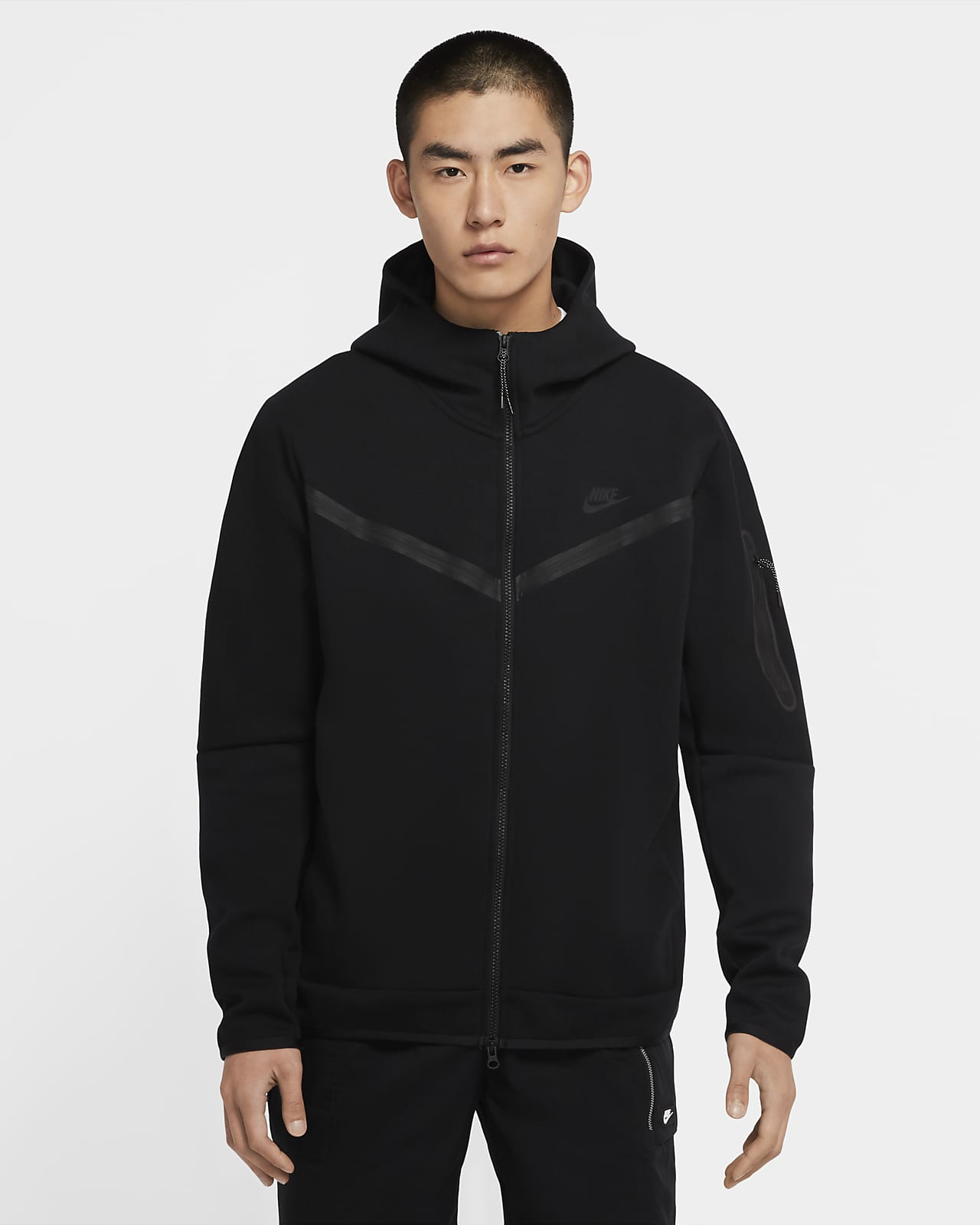 Sweat à capuche à zip Nike Sportswear Tech Fleece pour Homme