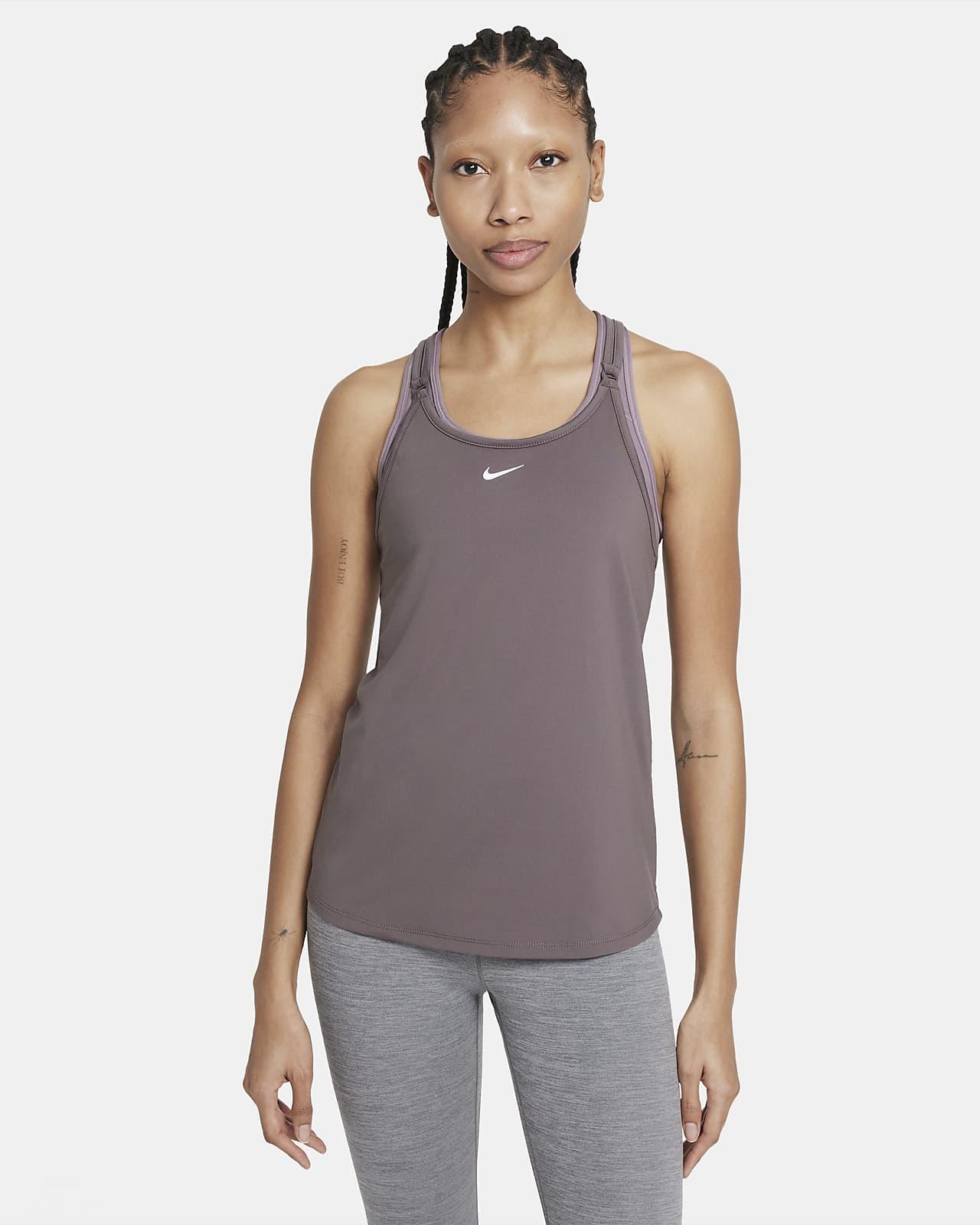 Camiseta de tirantes de ajuste slim para mujer Nike Dri-FIT One Luxe