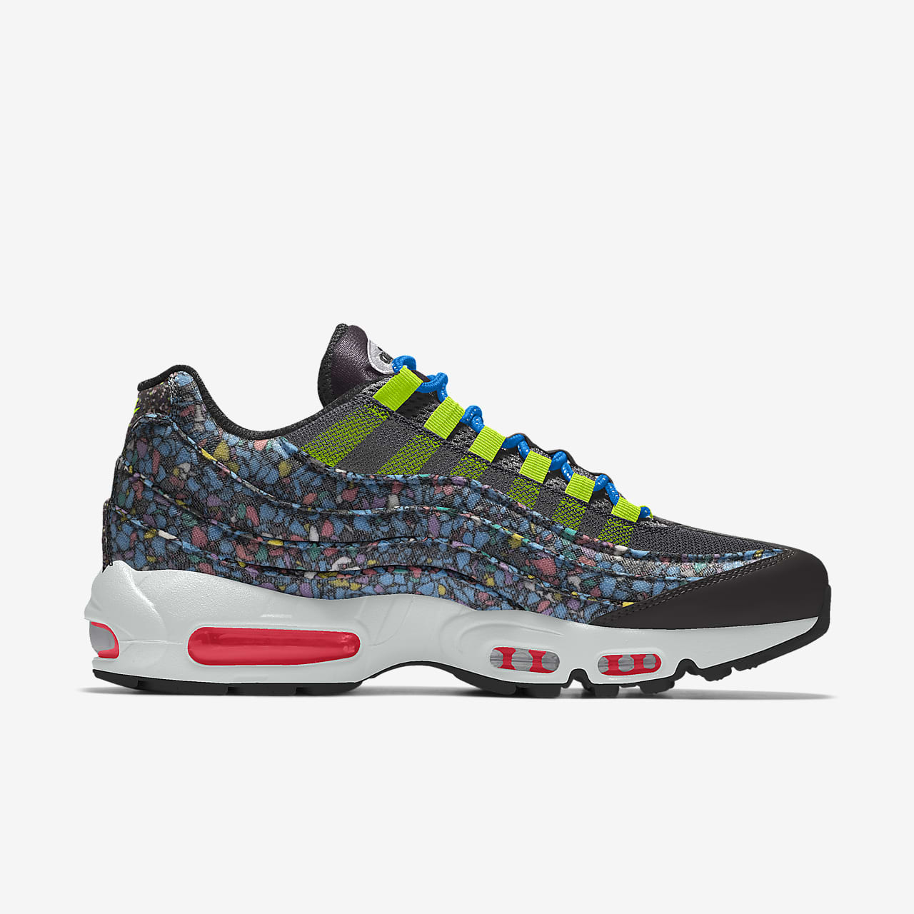 Nike Air Max 95 Unlocked By You Custom lifestyleschoen voor heren