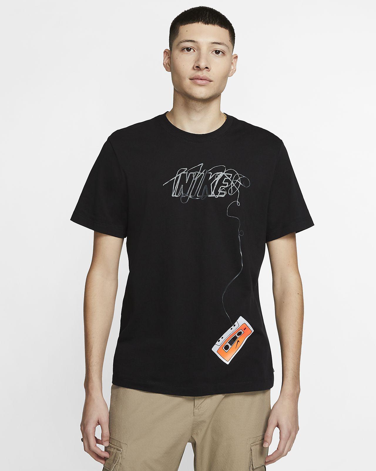 Męski T shirt do skateboardingu Nike SB