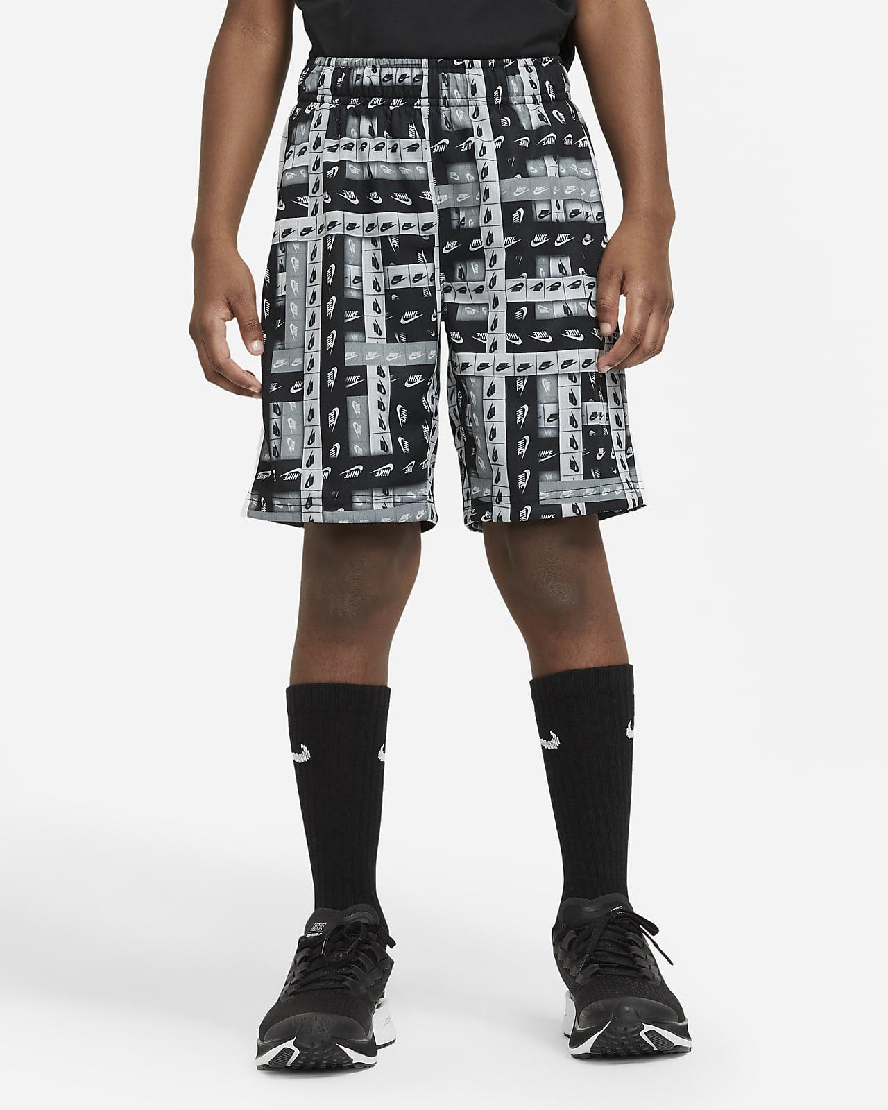 Nike Dri-FIT Older Kids' (Boys') Printed Training Shorts