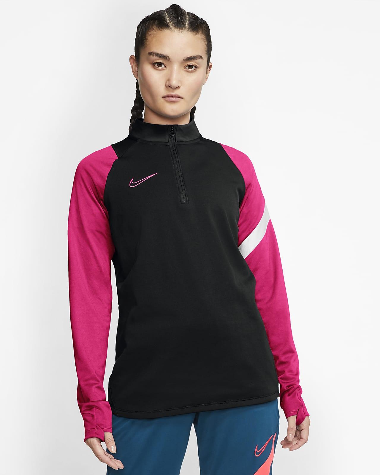 Nike Dri-FIT Academy Pro Drill-Fußballoberteil für Damen