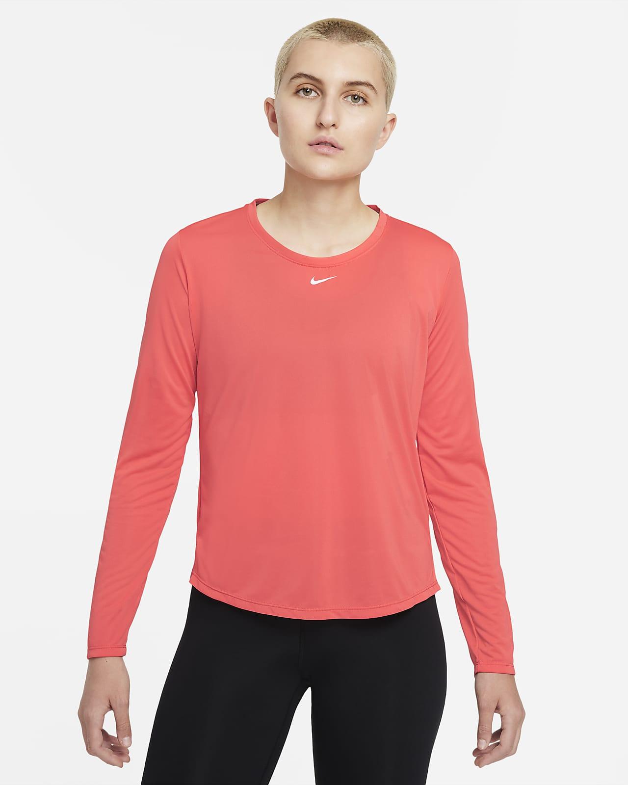 Nike Dri-FIT One Standart Kesimli Uzun Kollu Kadın Üstü