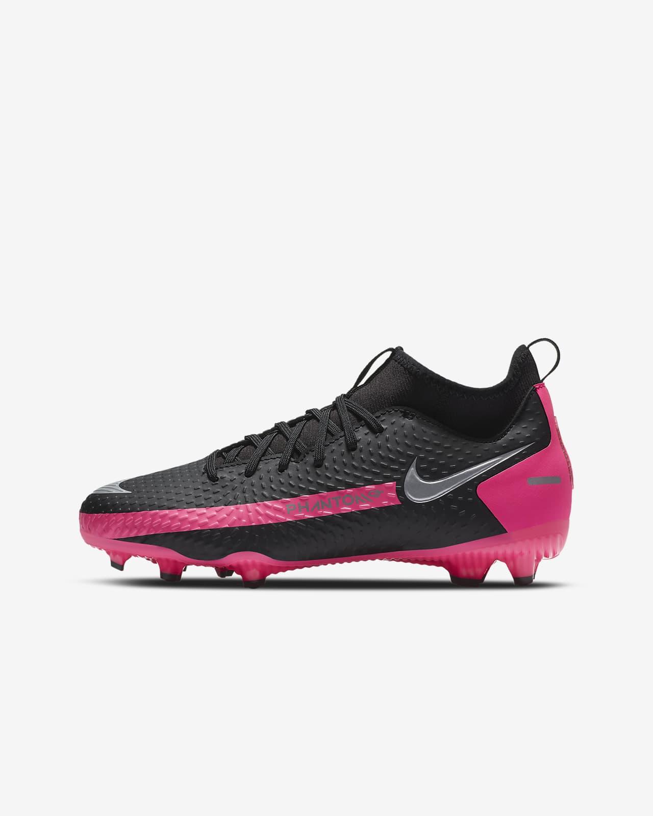 Fotbollssko för varierat underlag Nike Jr. Phantom GT Academy Dynamic Fit MG för barn/ungdom