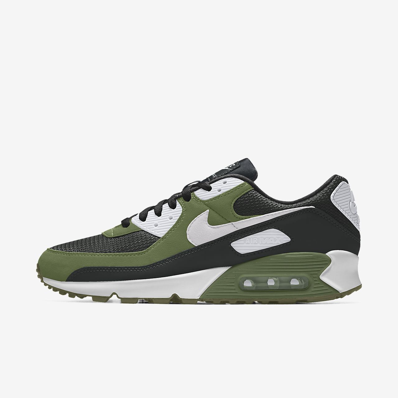 Specialdesignad sko Nike Air Max 90 By You för män