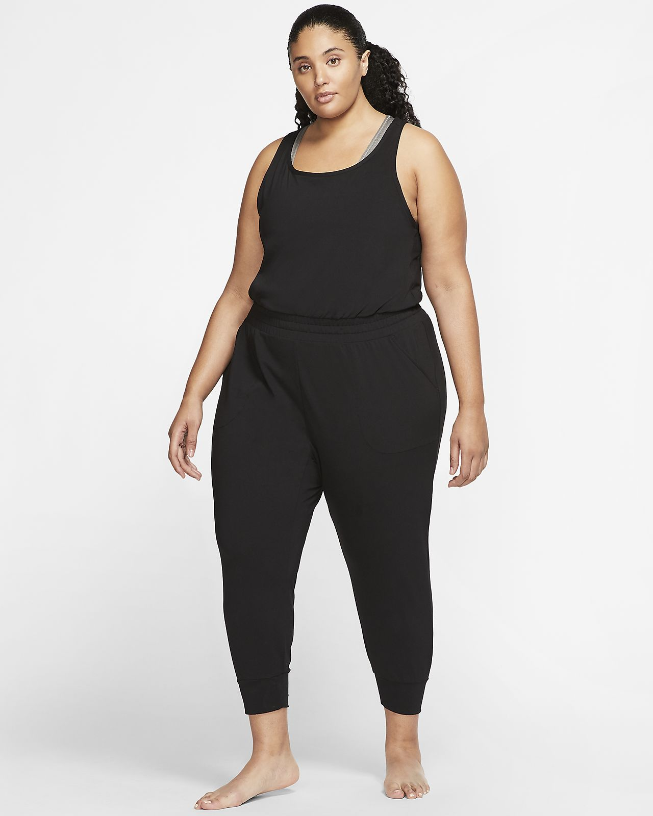 Nike Yoga Women's 7/8 Jumpsuit (Plus Size)