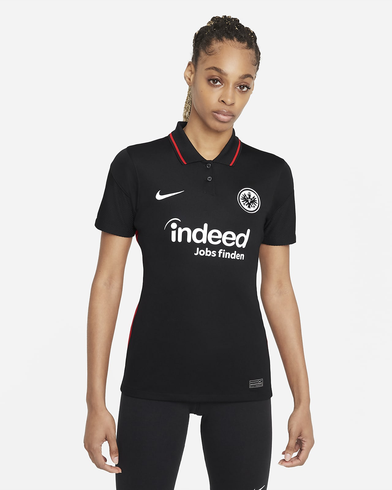 Eintracht Frankfurt 2021/22 Stadium Home Women's Football Shirt