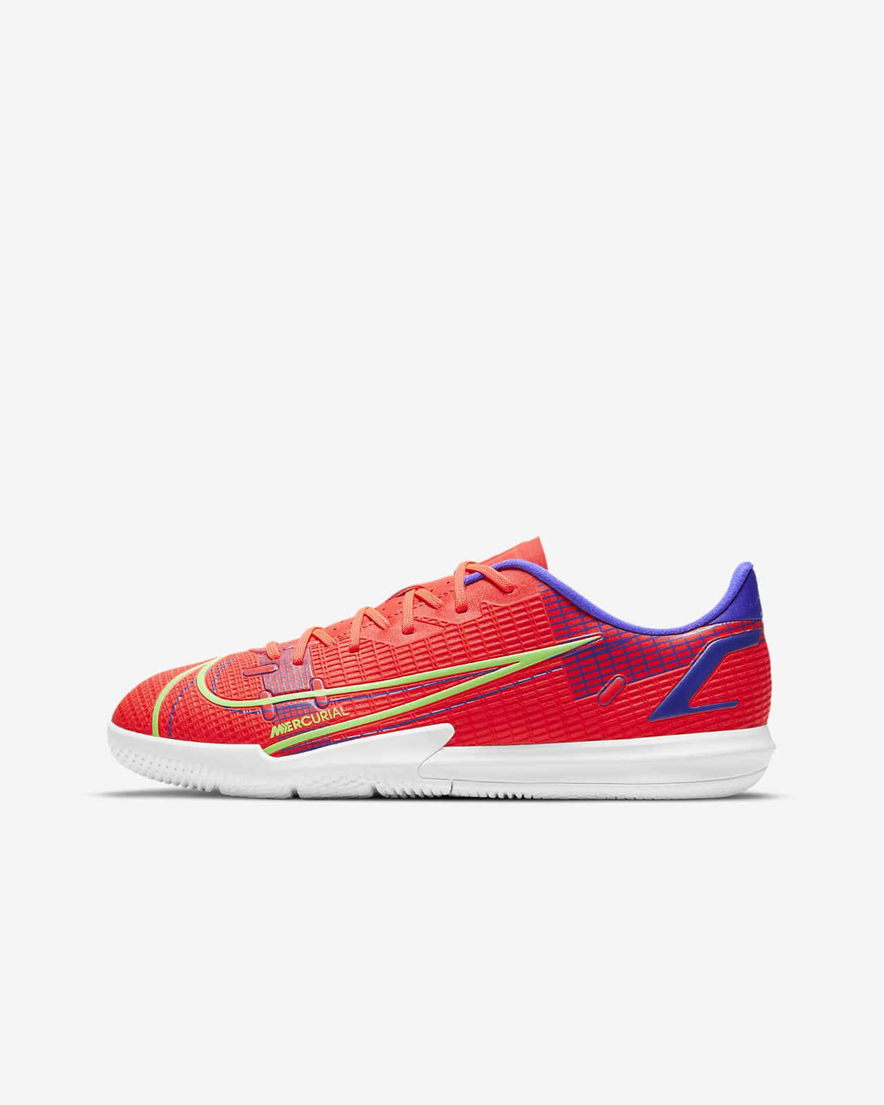 Nike Jr. Mercurial Vapor 14 Academy IC Fußballschuh für Hallen- und Hartplätze für jüngere/ältere Kinder