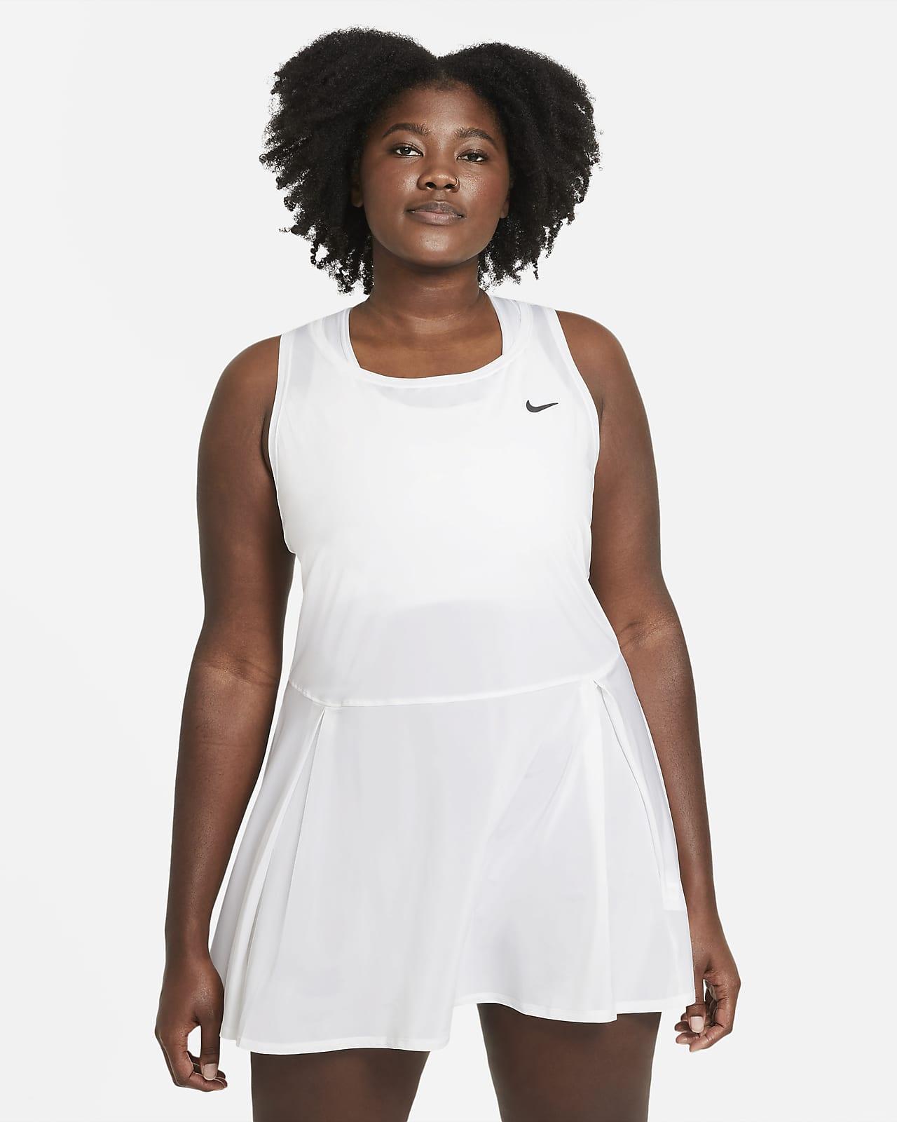 NikeCourt Dri-FIT Advantage Tenniskleid für Damen (große Größe)