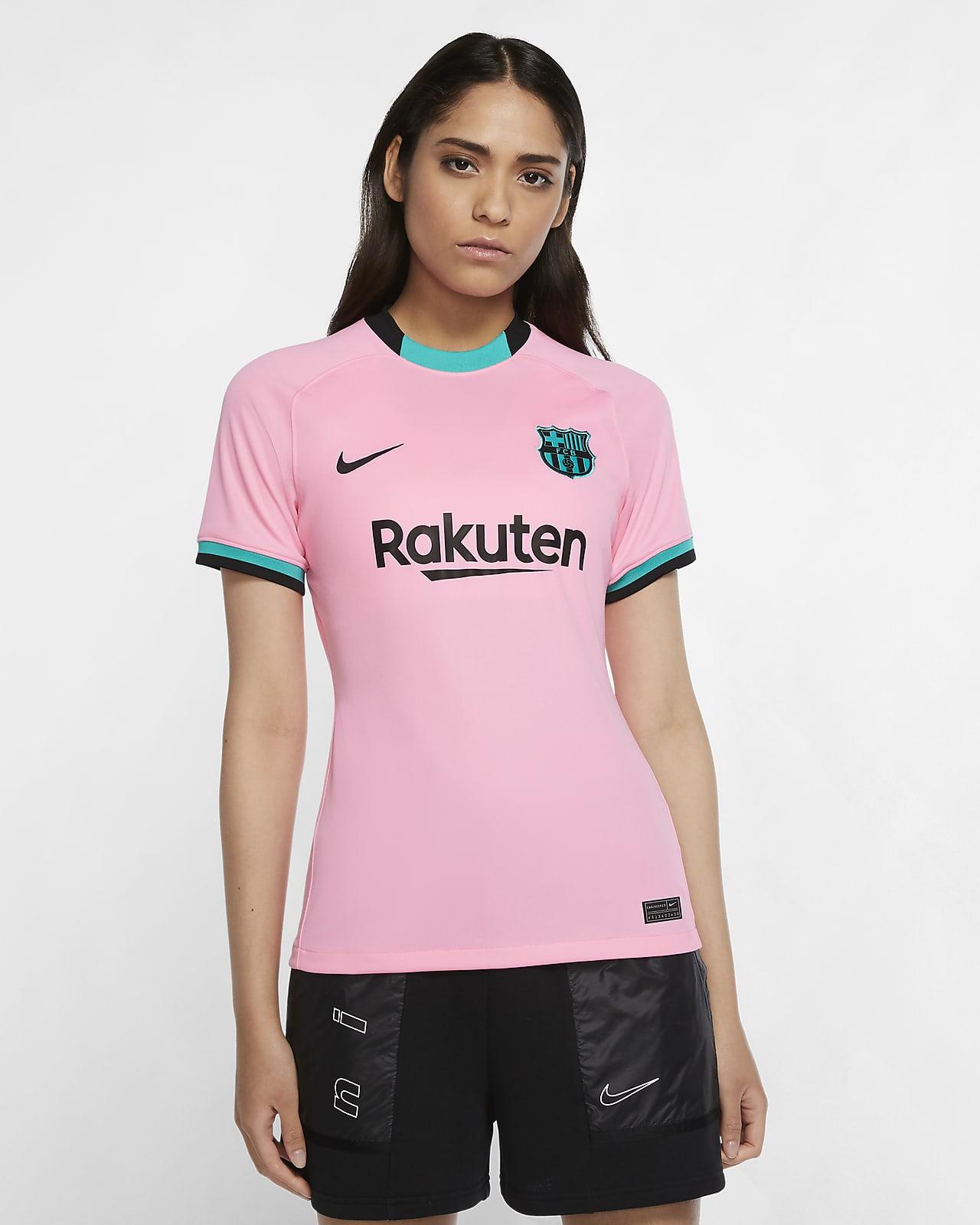 Camisola de futebol do terceiro equipamento Stadium FC Barcelona 2020/21 para mulher
