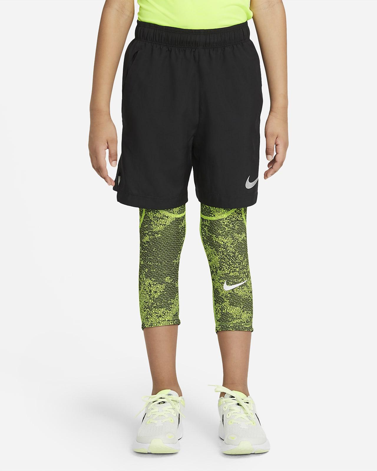 Leggings 3/4 para niño talla grande Nike Pro