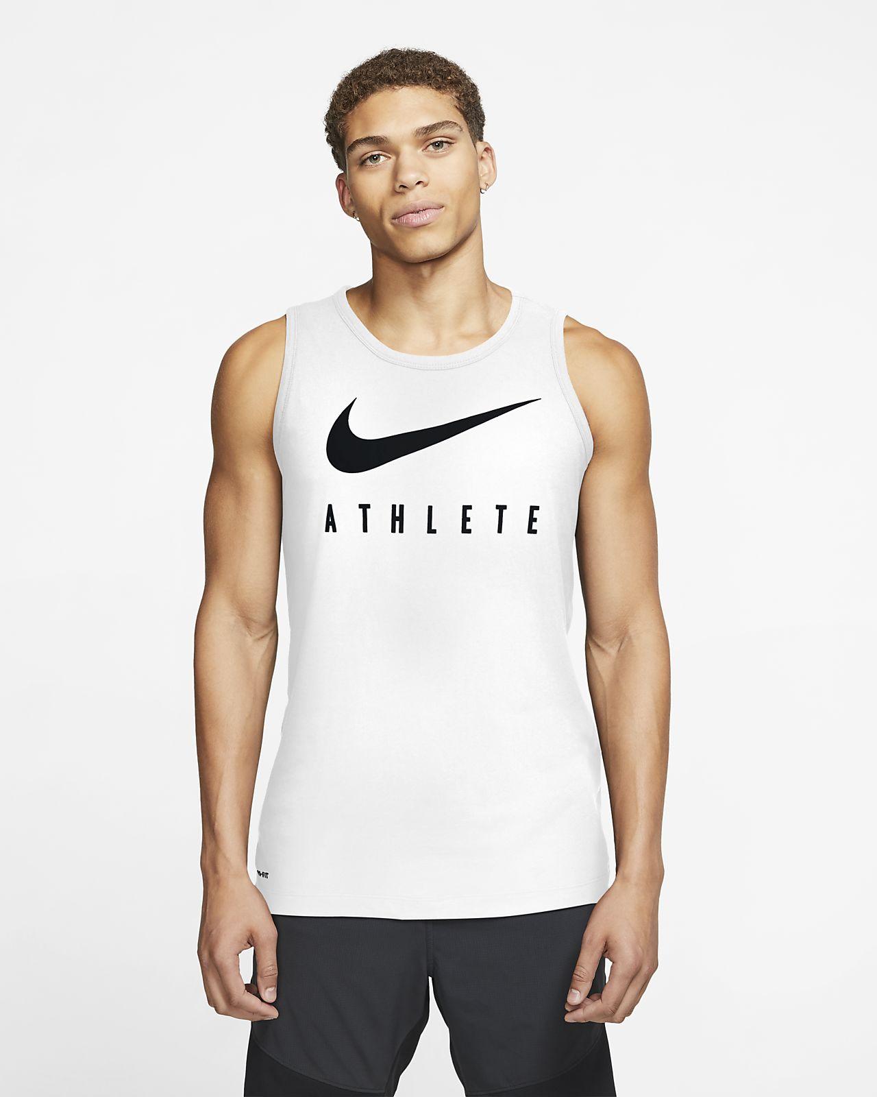 Camisola de treino sem mangas com Swoosh Nike Dri-FIT para homem