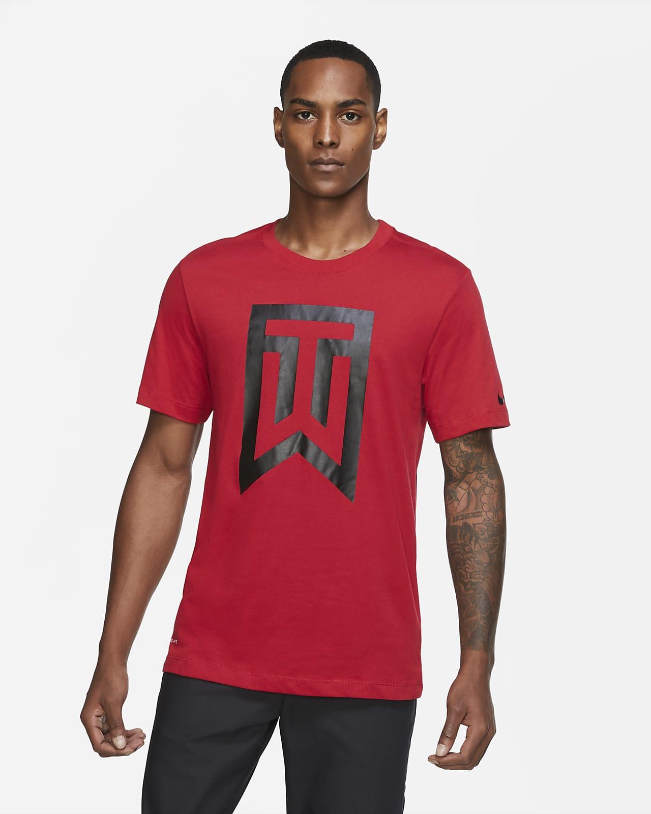 T-shirt da golf con logo Tiger Woods - Uomo
