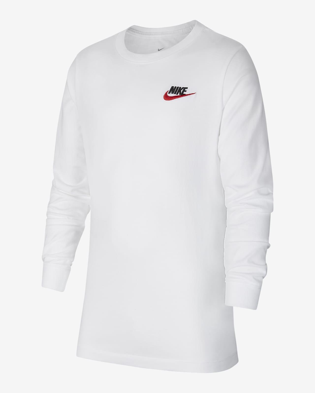 Nike Sportswear 大童(男孩)长袖T恤
