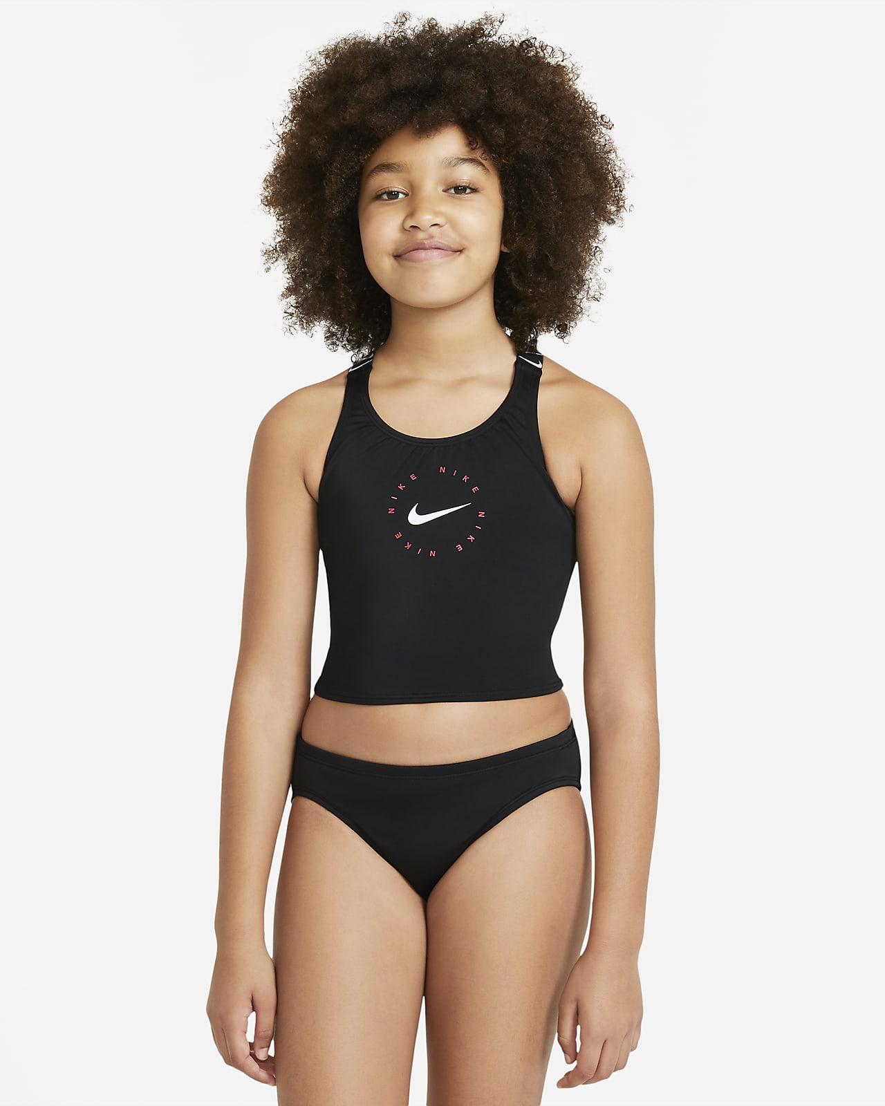 Nike Big Kids' (Girls') Crossback Midkini Set