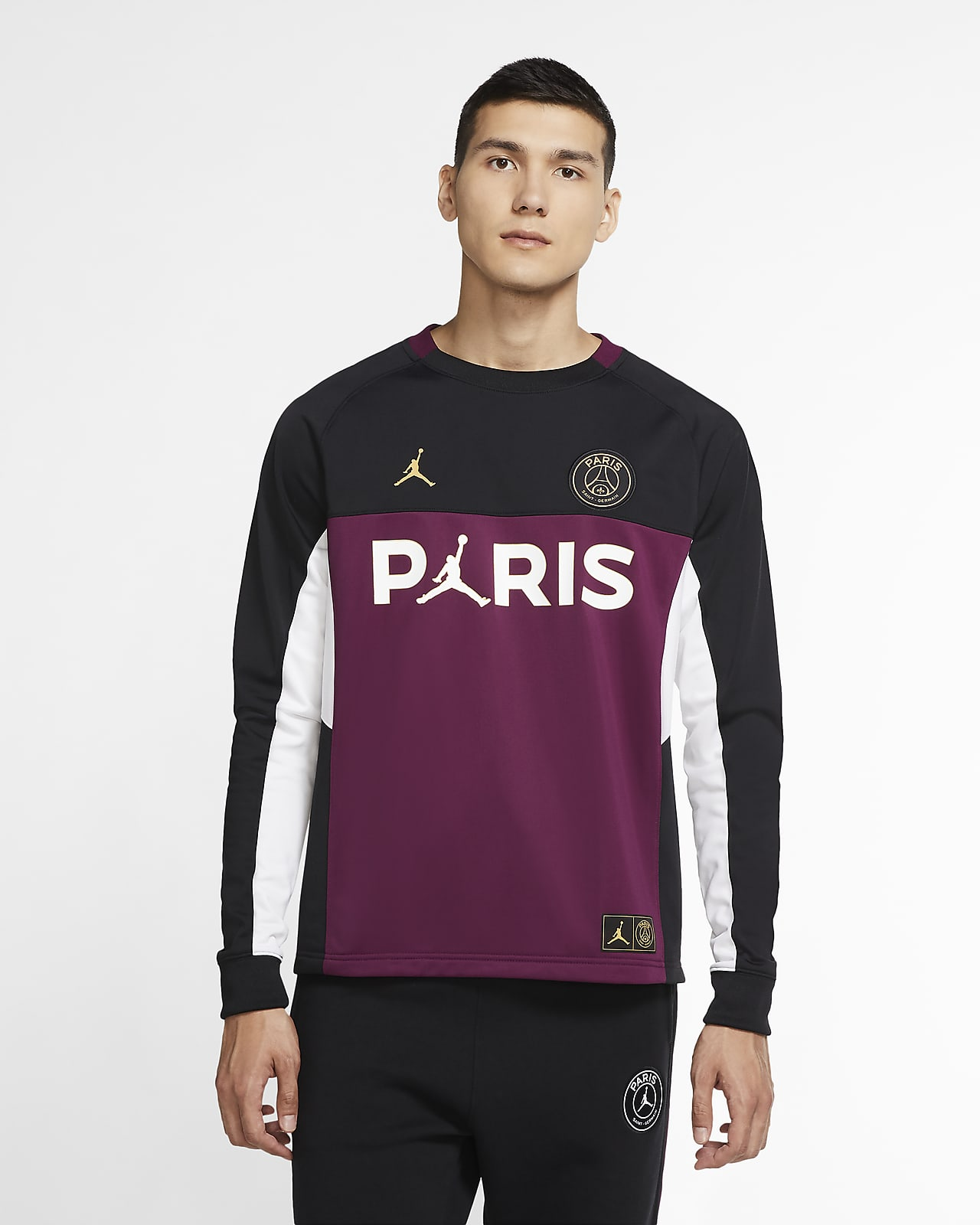 Мужская футболка с длинным рукавом Paris Saint-Germain