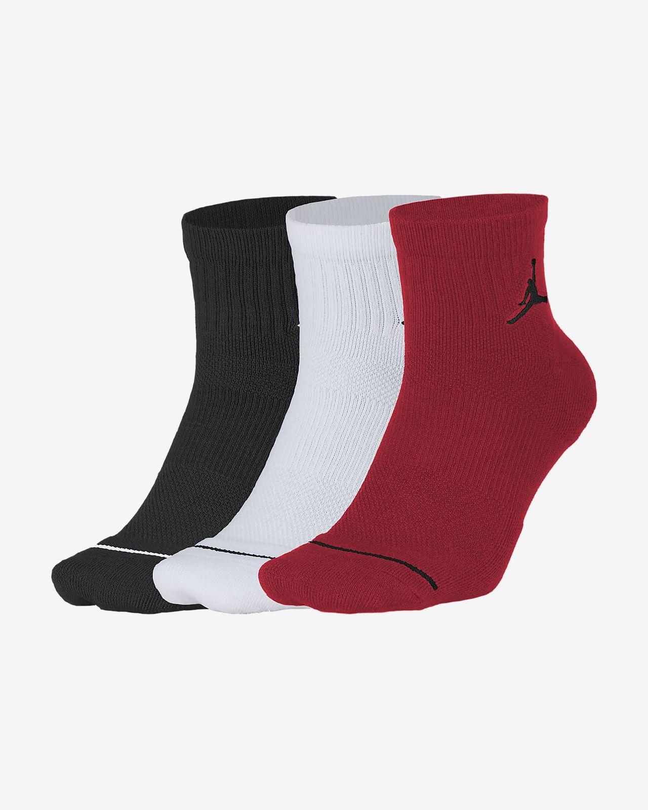 Chaussettes Jordan Jumpman Quarter (3 paires)