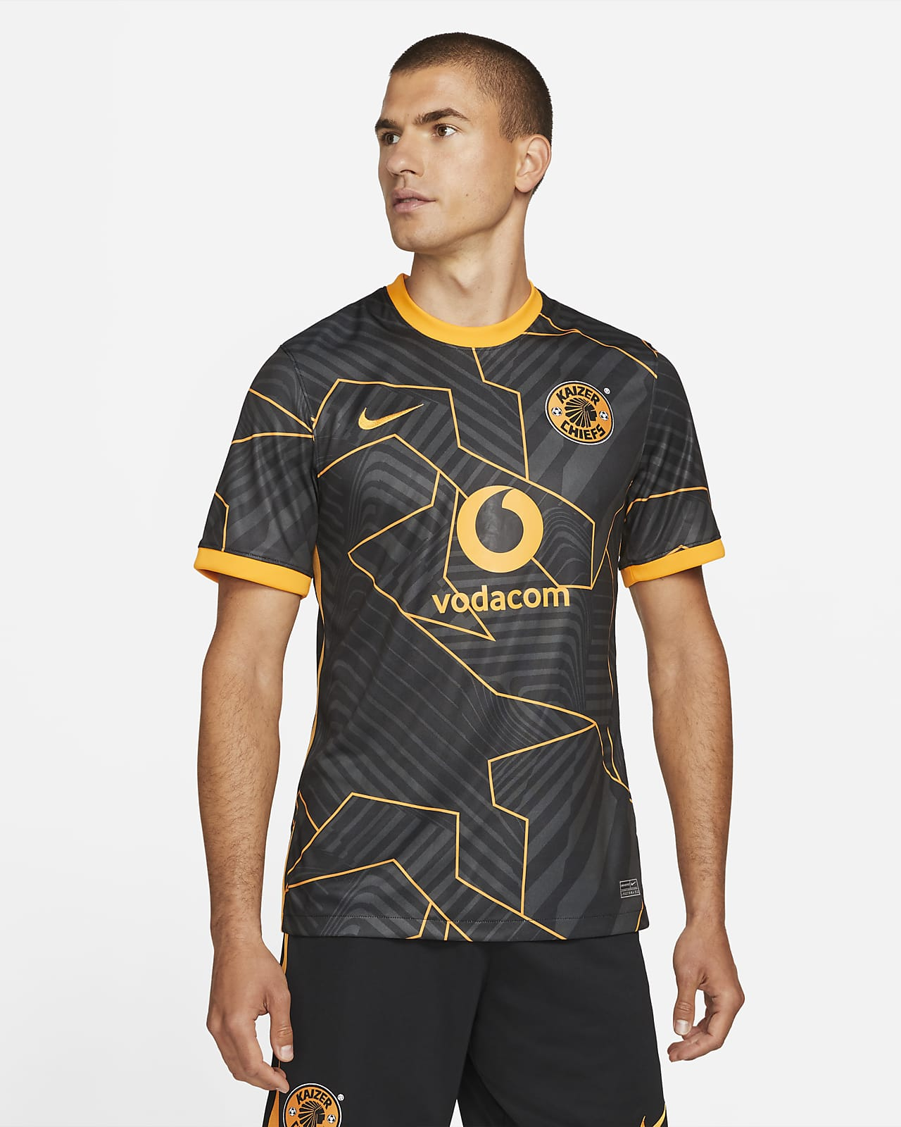 Kaizer Chiefs F.C. 2021/22 Stadium Away Men's Nike Dri-FIT Football Shirt