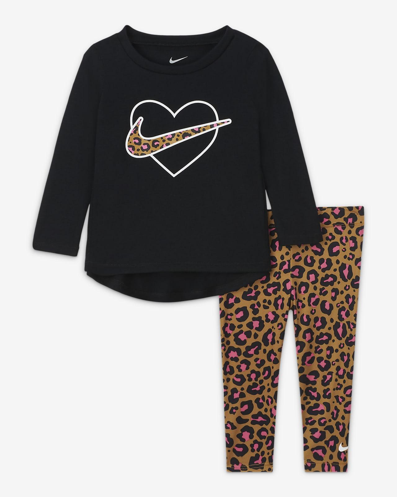 Nike Baby (12–24M) Top and Leggings Set