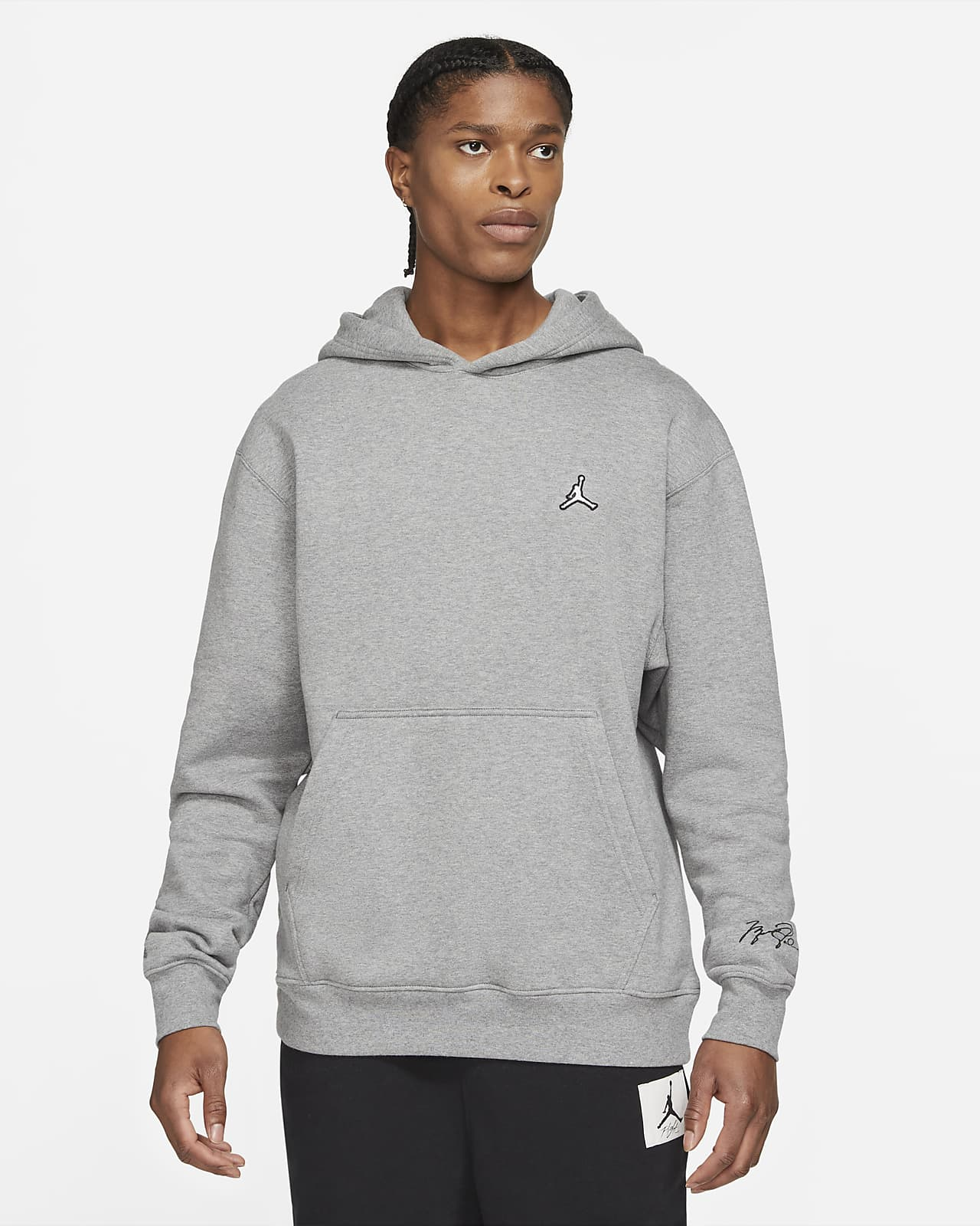 Męska dzianinowa bluza z kapturem Jordan Essentials