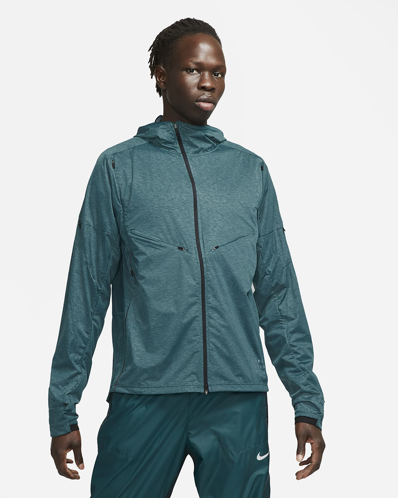Nike Pinnacle Run Division Men's Printed Running Jacket