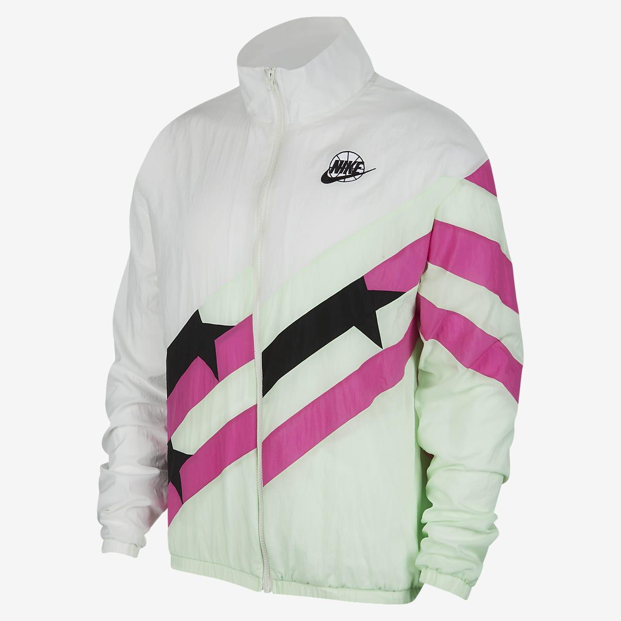 Nike Throwback Men's Basketball Tracksuit Jacket