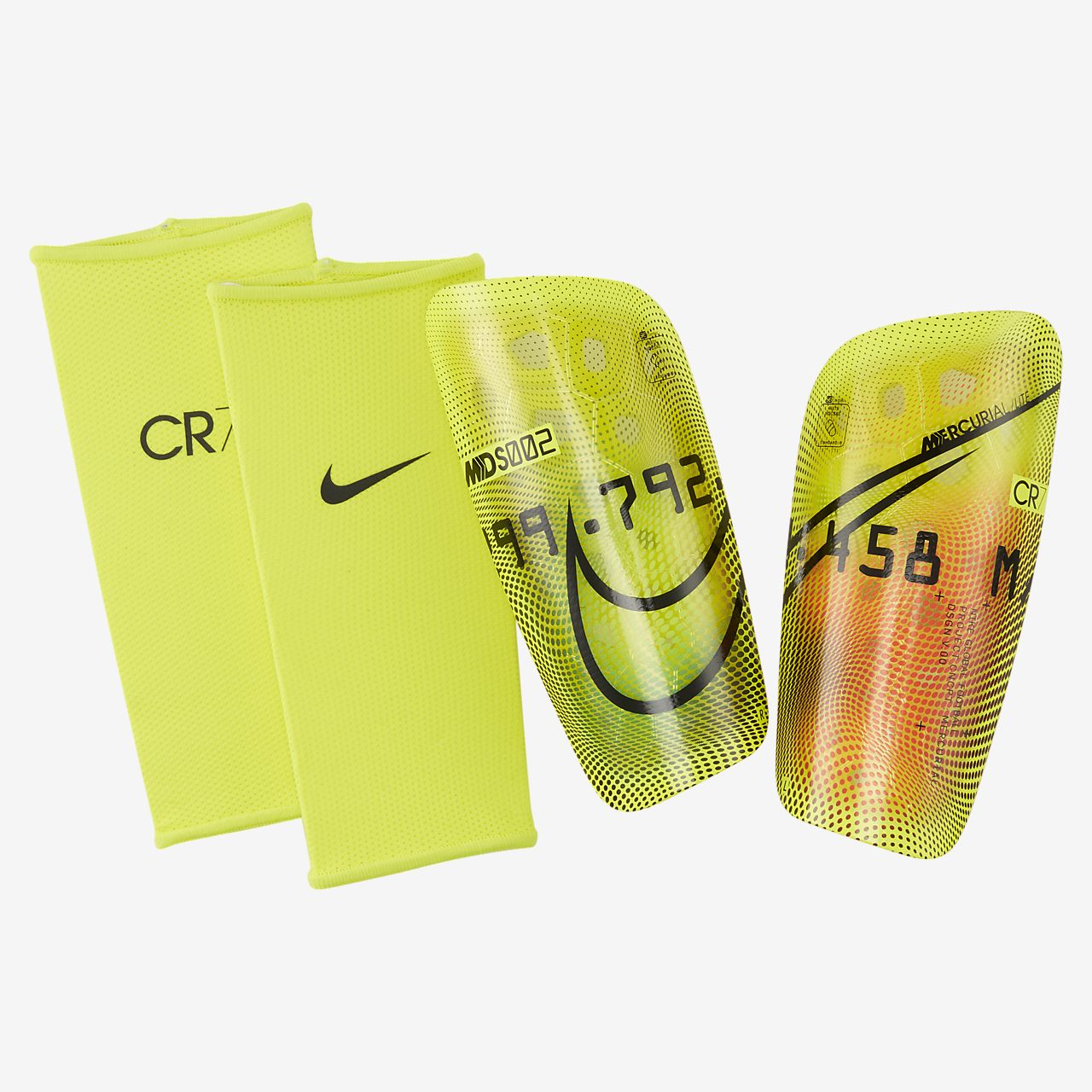 salado Automático 鍔  Nike Mercurial Lite CR7 Soccer Shin Guards. Nike.com