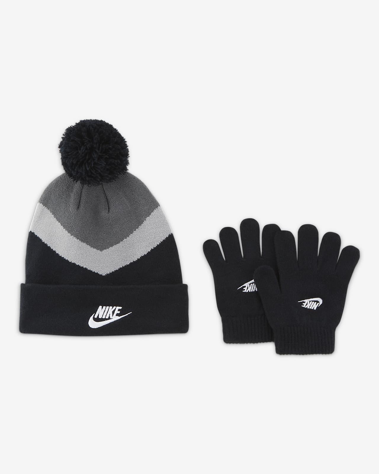 Nike Sportswear Big Kids' Beanie and Gloves Set