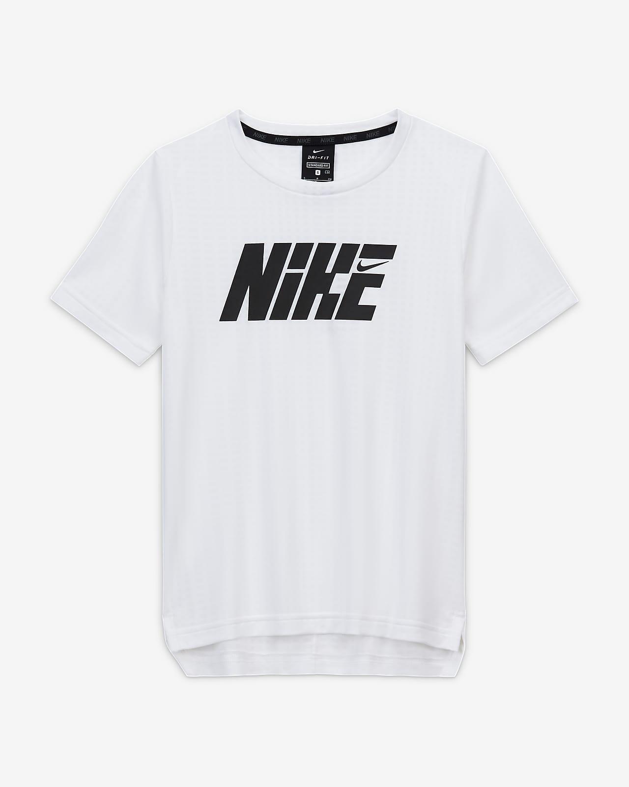 Nike Graphic Big Kids' (Boys') Short-Sleeve Training Top