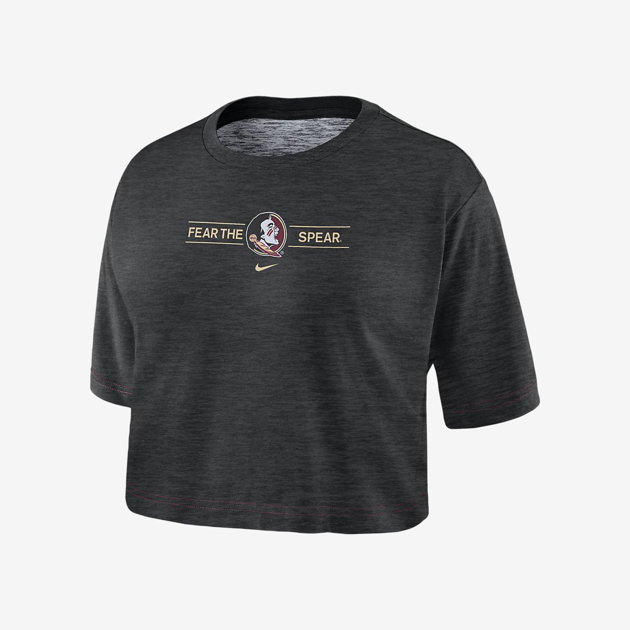 Nike College Dri-FIT (Florida State) Women's Cropped T-Shirt
