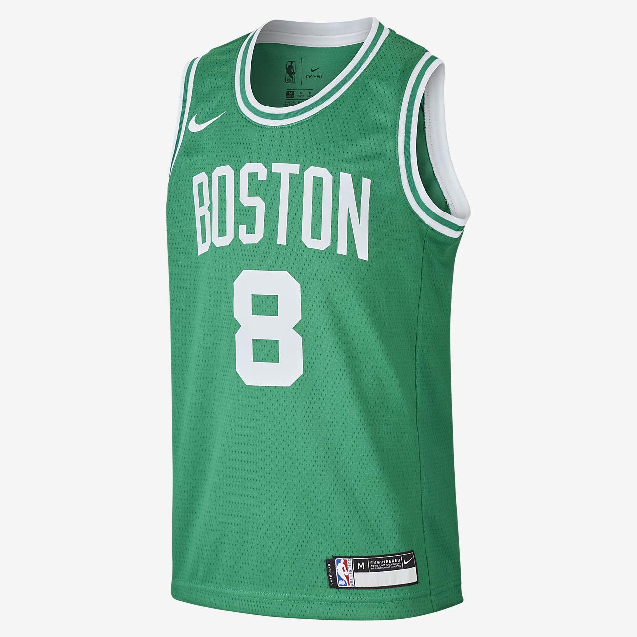 Kemba Walker Celtics Icon Edition Older Kids' Nike NBA Swingman Jersey