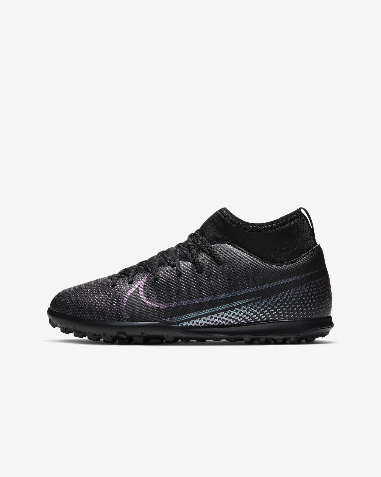 Nike Jr. Mercurial Superfly 7 Club TF Little/Big Kids' Artificial-Turf Soccer Shoe