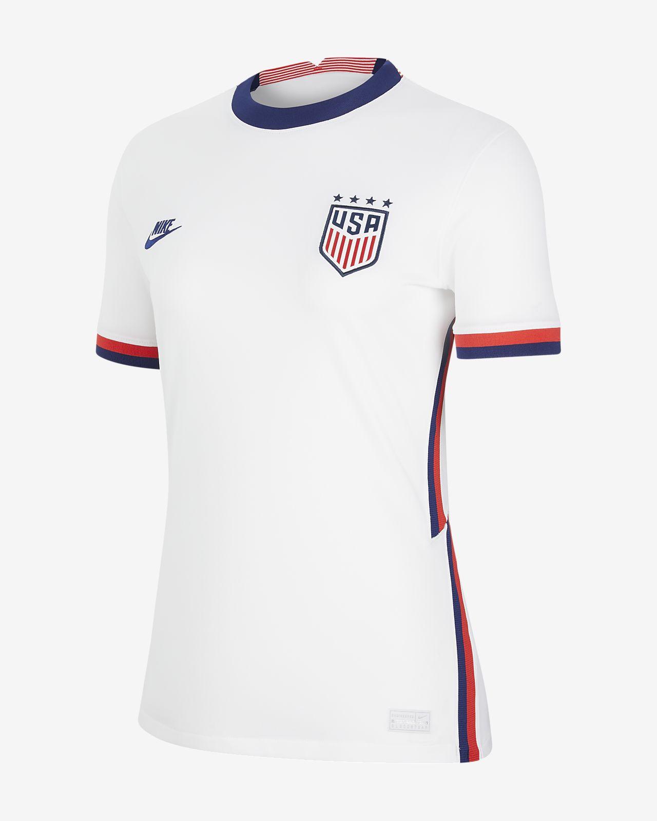 U.S. 2020 Stadium Home (4-Star) Women's Soccer Jersey
