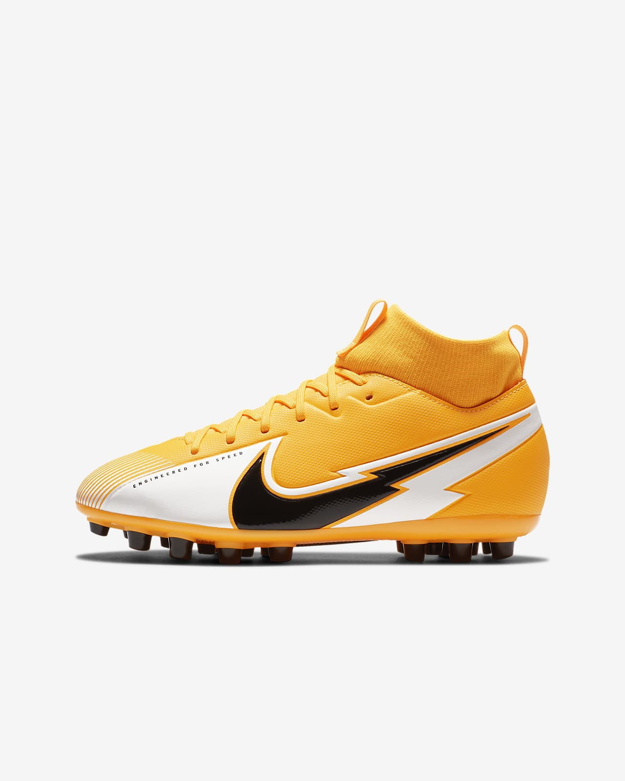 Nike Jr. Mercurial Superfly 7 Academy AG Younger/Older Kids' Artificial-Grass Football Boot