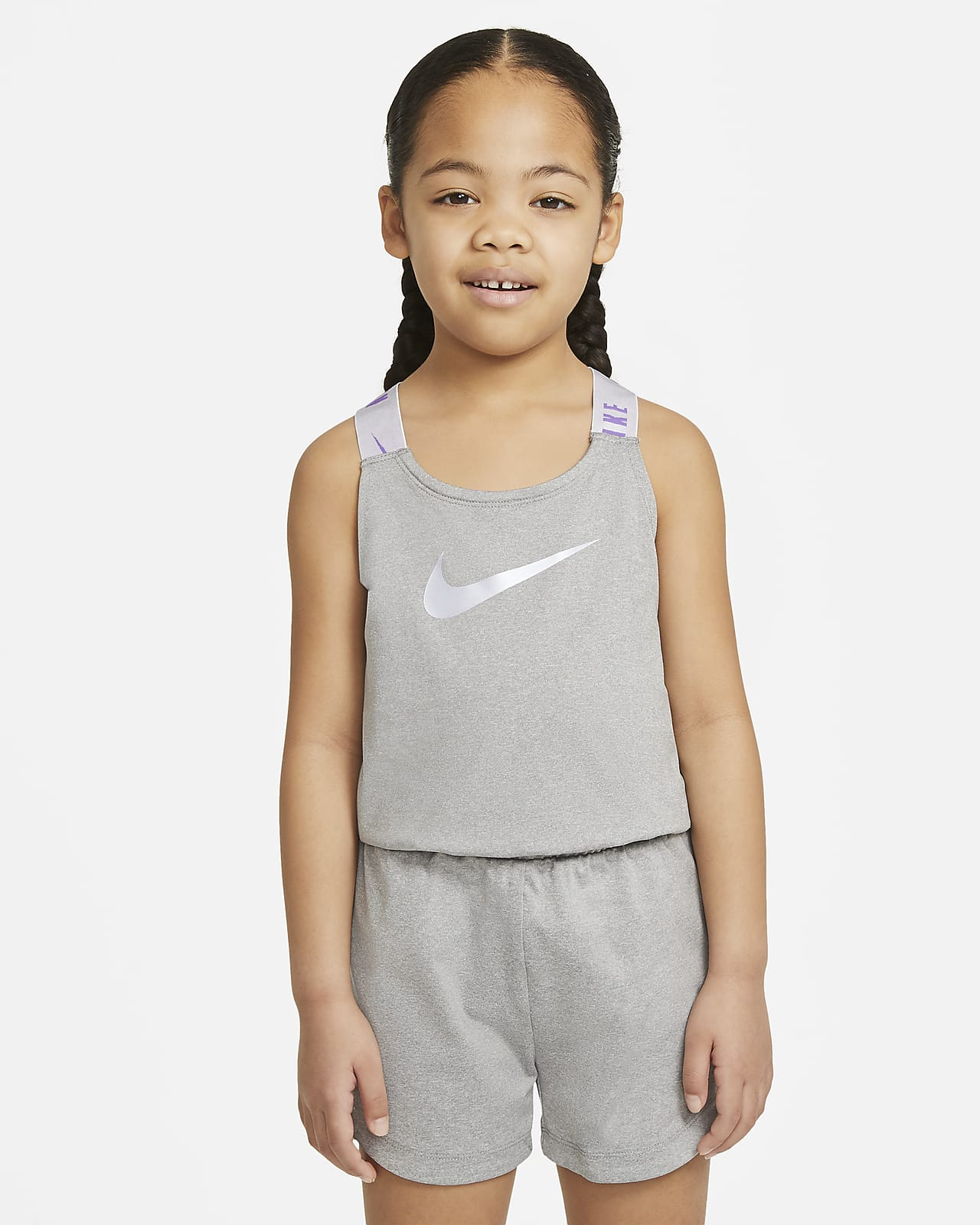 Nike Dri-FIT Little Kids' Romper