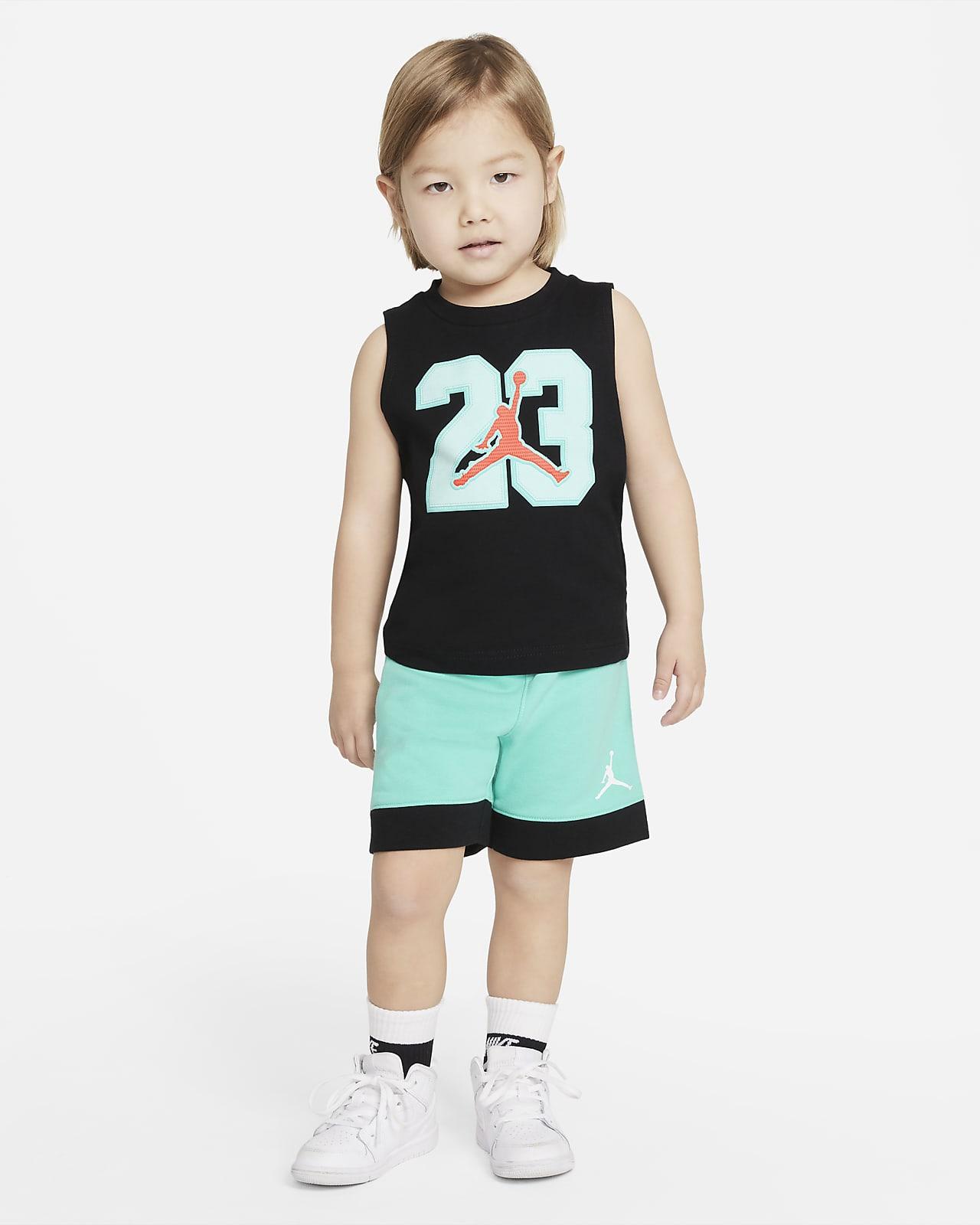Jordan Toddler Tank Top and Shorts Set