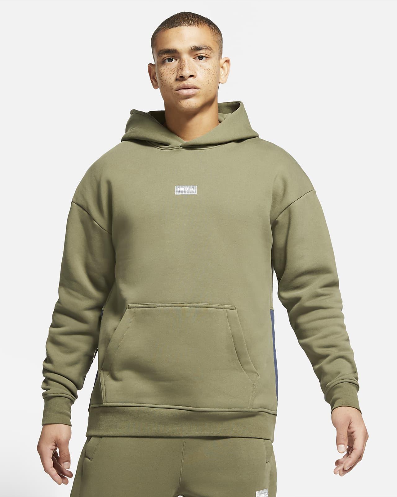 Nike F.C. Men's Fleece Pullover Soccer Hoodie