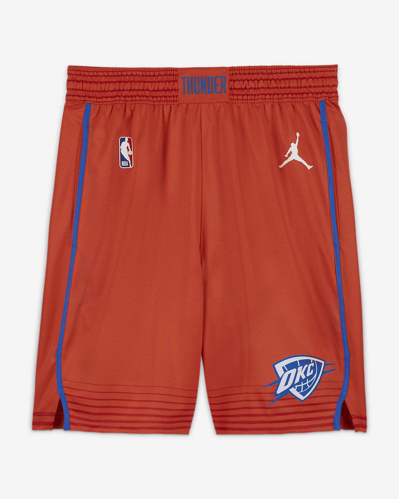 Thunder Statement Edition 2020 Jordan NBA Swingman férfi rövidnadrág