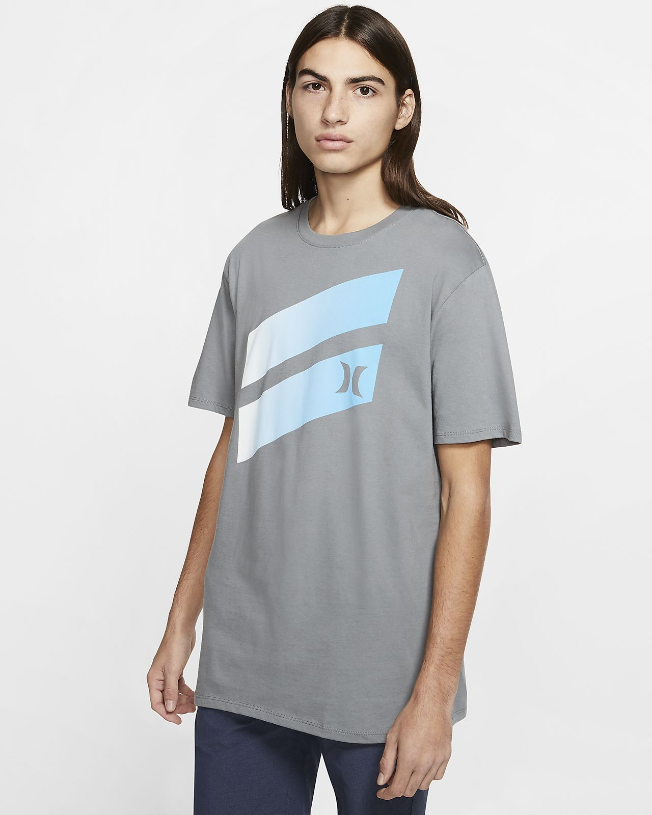 T-shirt Hurley Premium Icon Slash Gradient - Uomo