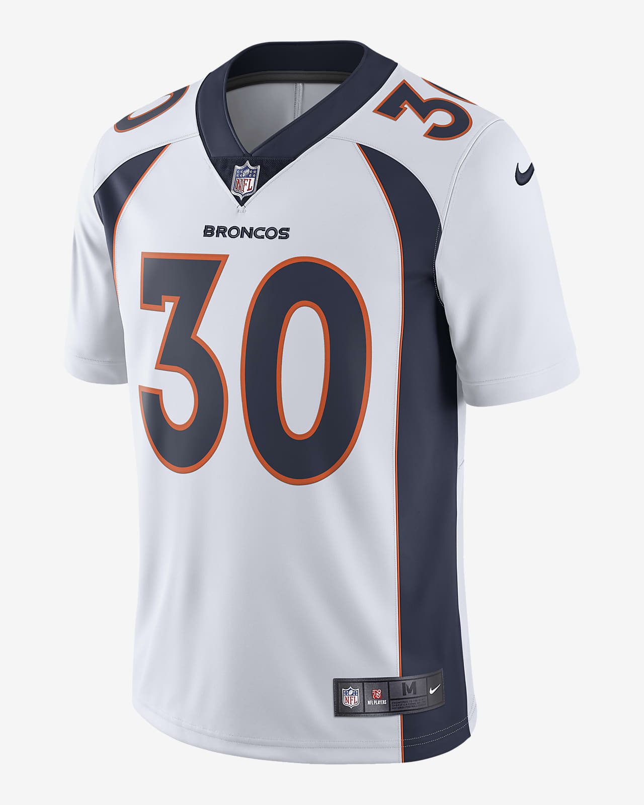 NFL Denver Broncos (Phillip Lindsay) Men's Limited Vapor Untouchable Football Jersey