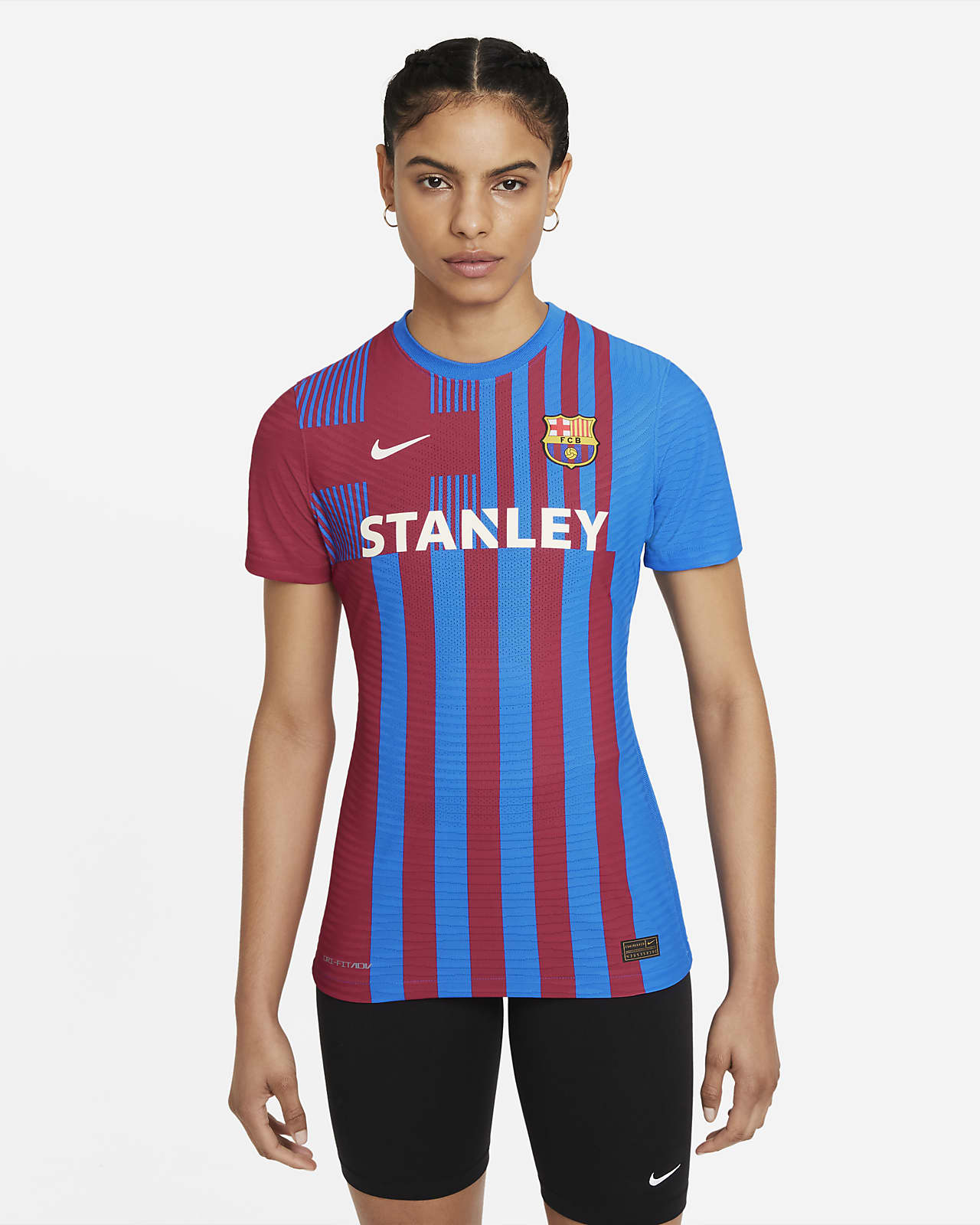 Camiseta de fútbol de local Nike Dri-FIT ADV para mujer Match del FC Barcelona 2021/22