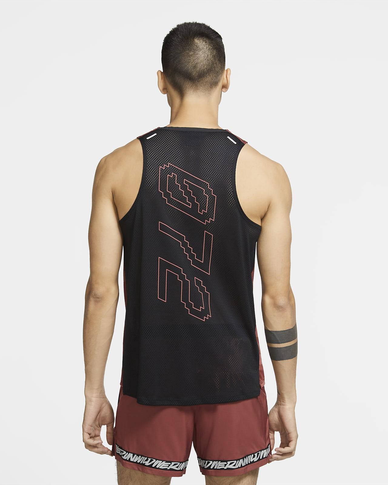 Haut de running sans manches Nike Dri FIT Rise 365 Wild Run pour Homme