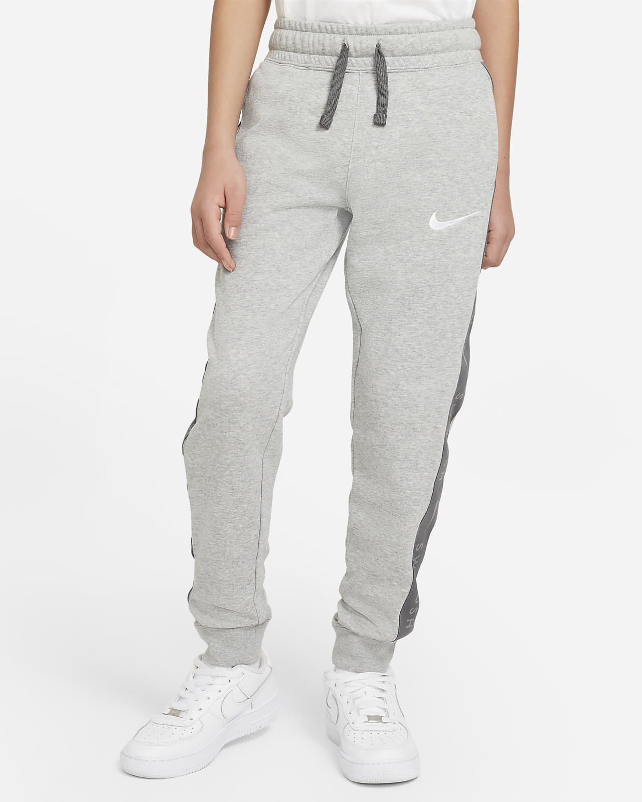 Pantalon en tissu Fleece Nike Sportswear Swoosh pour Garçon plus âgé