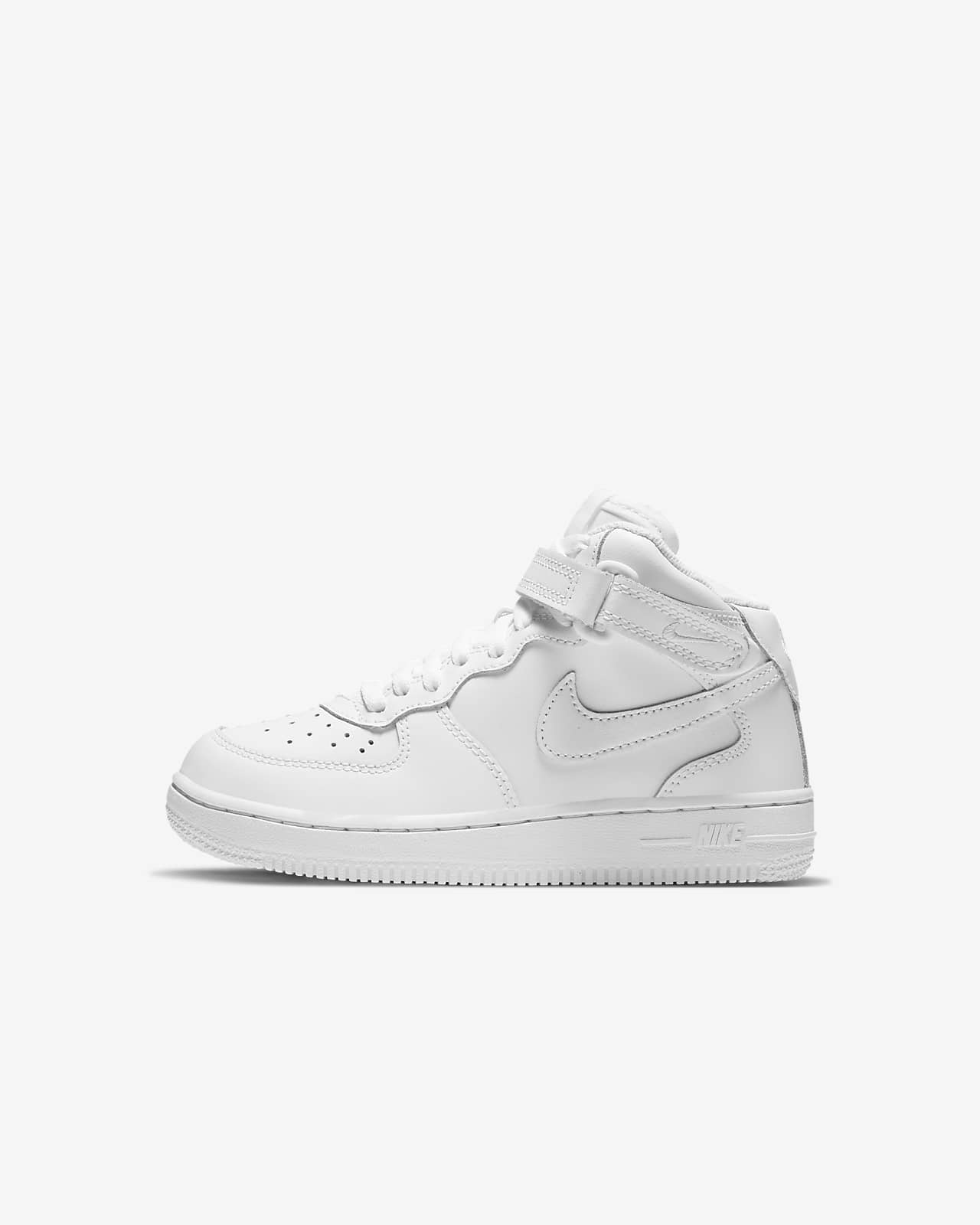 Nike Force 1 Mid (PS) 幼童运动童鞋