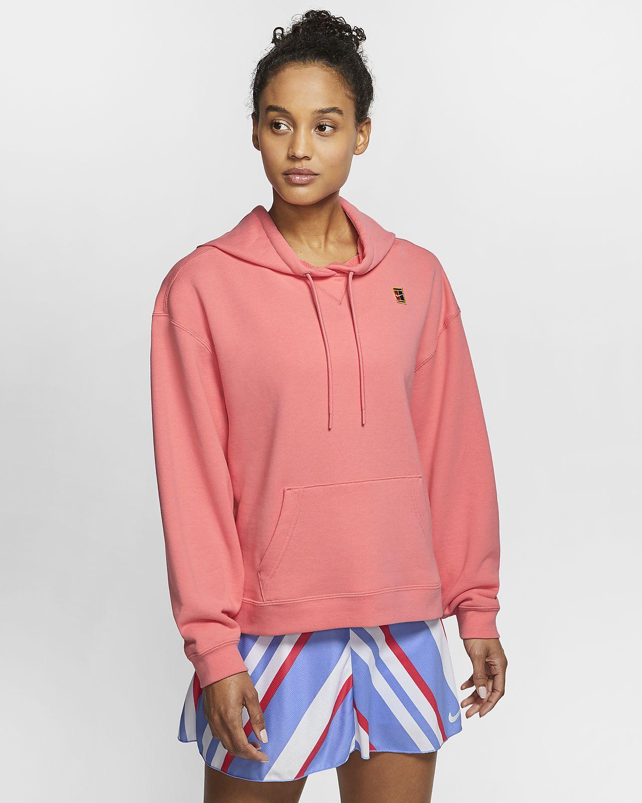 Felpa da tennis con cappuccio NikeCourt - Donna